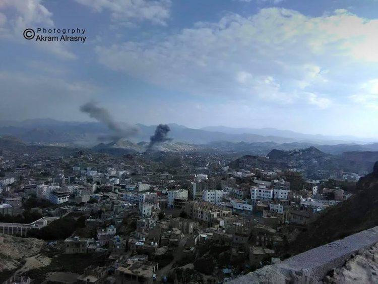 قوات الجيش الوطني تصد هجوما عنيفا لمليشيا الانقلاب الحوثي بتعز