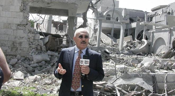 استهداف معقل المخلوع علي عبدالله صالح بغارات جوية لطيران التحالف