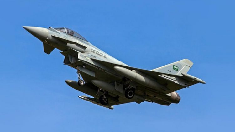 طيران التحالف العربي يشن 5 غارات على مواقع المليشيات الانقلابية جنوب العاصمة صنعاء