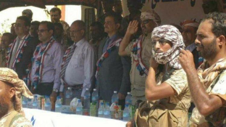 رئيس ما يسمى المجلس الانتقالي  يصف الحكومة بالاحتلال ويقول ان مجلسه سيمنع أي عدوان عسكري يمني جديد على الجنوب