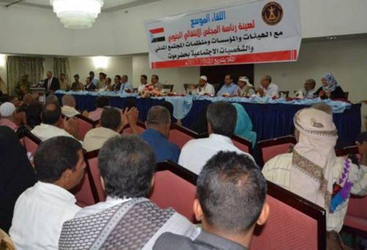 رئيس ما يسمى بالمجلس الانتقالي يهدد بطرد قوات المنطقة العسكرية الاولى من حضرموت ونشر قوات النخبة الحضرمية