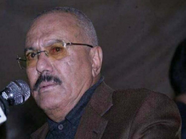 ظهور غير مسبوق لقوات الحرس الجمهوري في العاصمة صنعاء يرفعون صور نجل الرئيس السابق صالح