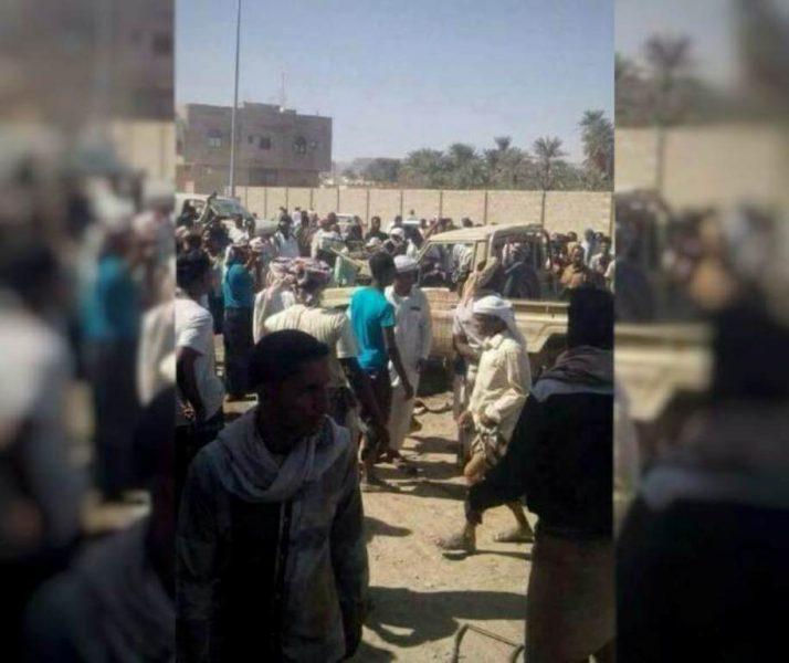 مقتل ثلاثة من قوات الجيش الوطني بانفجار عبوة ناسفة بمحافظة حضرموت