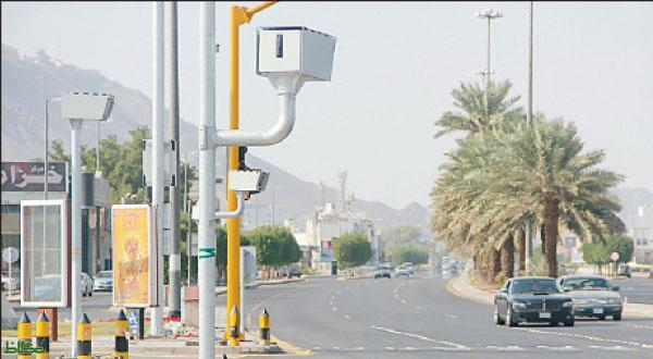 مرور السعودية يعرض المخالفات المسجلة بكاميرات ساهر عبر التلفزيون السعودي