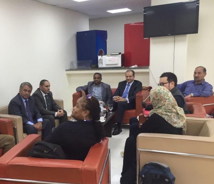 وفد اممي يزور عدن للاطلاع على وضع حقوق الانسان في اليمن وبحث الية تطبيق قرارات مجلس حقوق الانسان