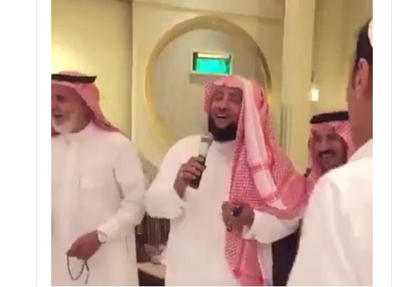 حقيقة رقص الداعية السعودي علي المالكي على انغام الموسيقى (فيديو)