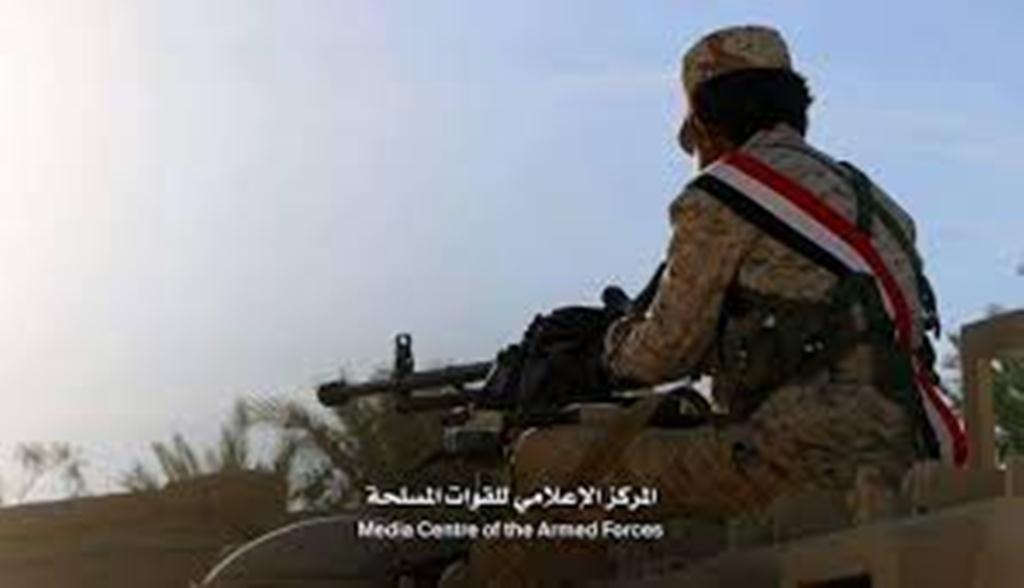 قوات الجيش الوطني تتمكن من أسر قيادي حوثي مع مرافقيه في الجوف