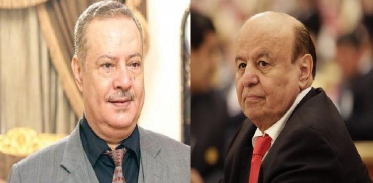 حقيقة رفض الرئيس هادي لإستقالة محافظ عدن المفلحي (وثيقة)