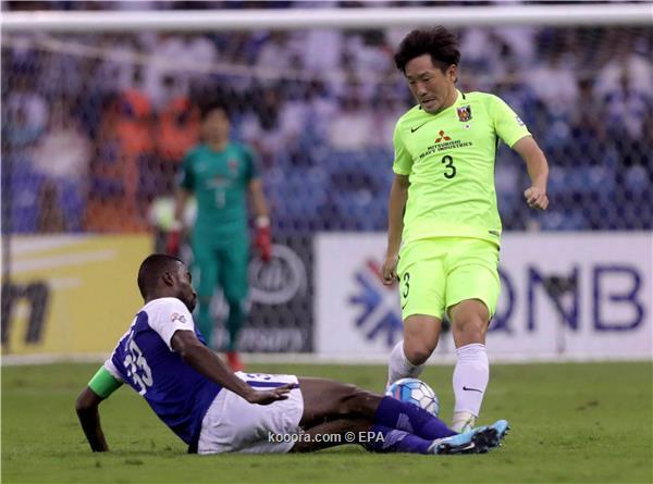 الهلال السعودي يتعادل مع اوراوا الياباني في ذهاب النهائي الاسيوي