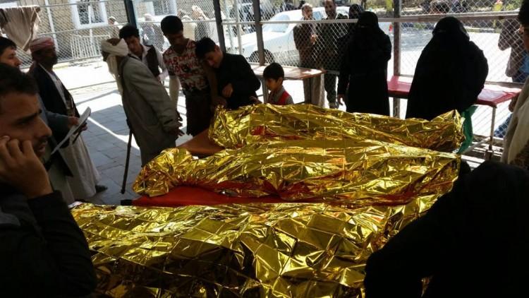 وفاة ستة مواطنين بحريق هائل اندلع في احد المحلات التجارية بمحافظة إب