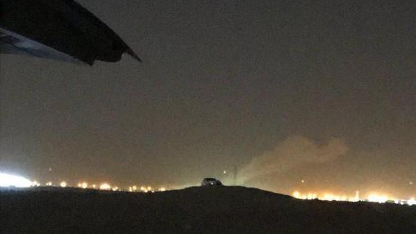 شاهد بالفيديو لحظة اعتراض الدفاعات السعودية لبالستي حوثي شمال الرياض