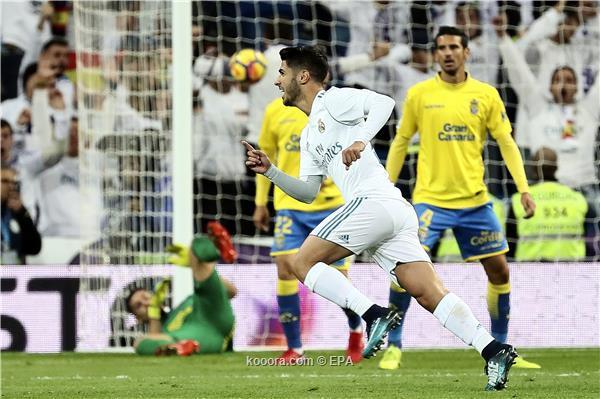 ريال مدريد يعود للانتصار في الدوري بثلاثية على لاس بالماس