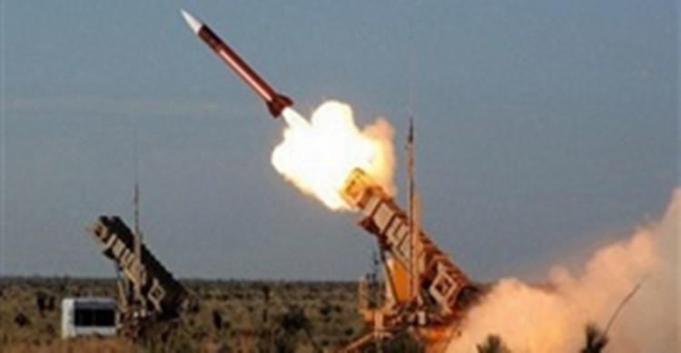 دفاعات التحالف العربي تعترض صاروخ باليستيا للمليشيات الانقلابية اطلق على محافظة مأرب