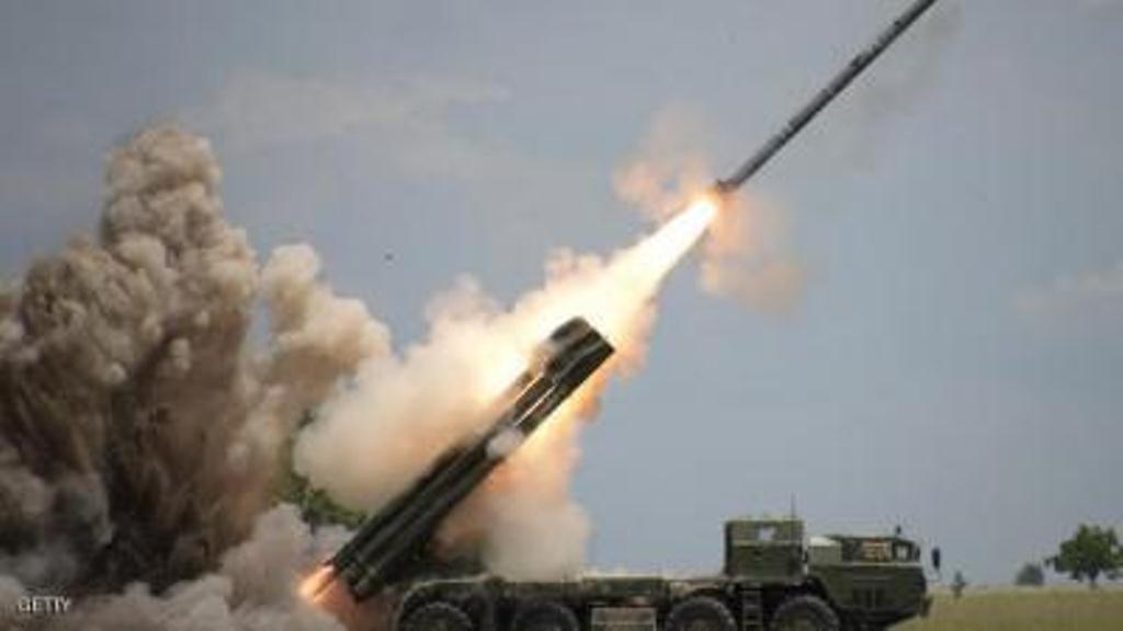 دفاعات التحالف العربي تعترض صاروخين بالستيين في سماء مأرب