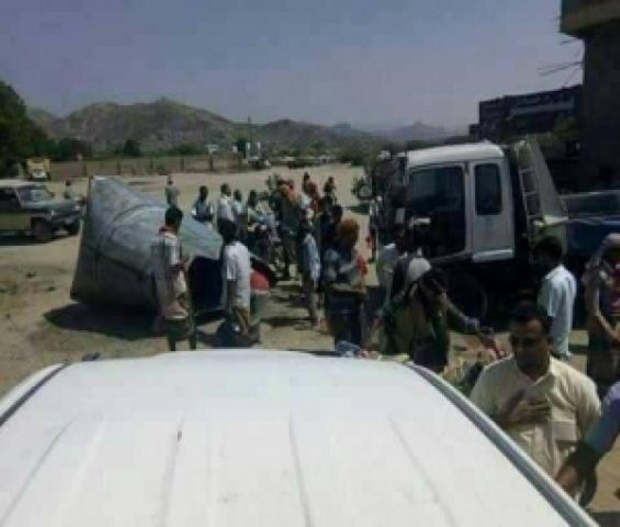 انفجار صهريج مشتقات نفطية يؤدي الى مقتل 3 اشخاص في منطقة طور الباحة