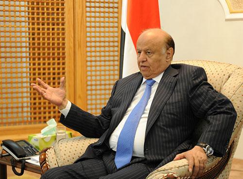 حقيقة وضع الرئيس هادي ووزراء الشرعية تحت الإقامة الجبرية في السعودية