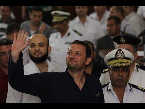 باسم عودة يشعل مواقع التواصل في فيديو من المحكمة بعد اربع سنين حبس انفرادي