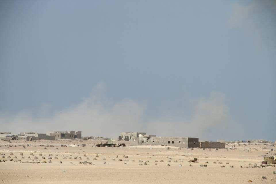 القوات الاماراتية تمنع مواطني مديرية ذوباب من العودة الى منازلهم بعد اشهر من تحرير المنطقة