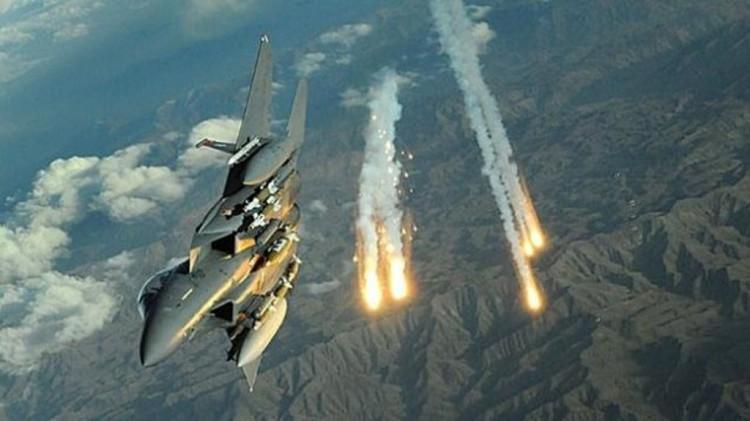 طيران التحالف العربي يشن 3 غارات على مواقع المليشيات الانقلابية في محافظة الحديدة