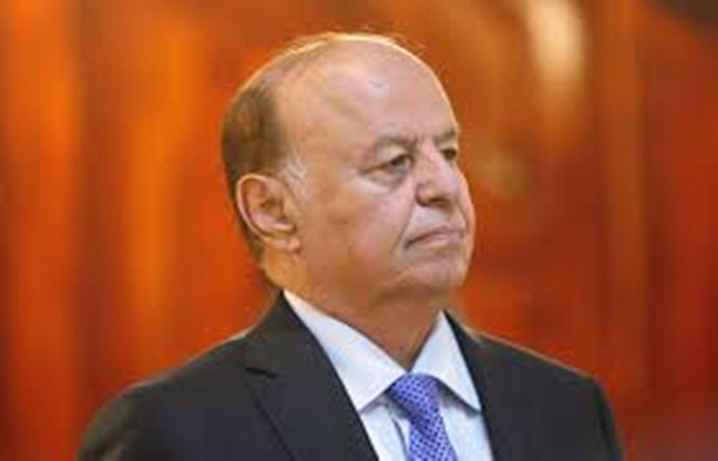 الرئيس هادي يعزي رئيس مؤسسة 14 اكتوبر للصحافة بوفاة ابنه