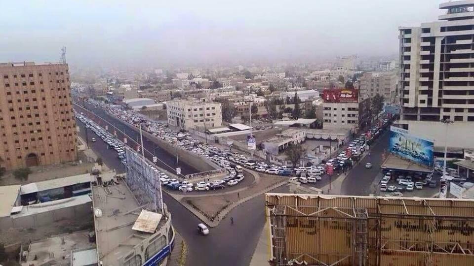 صندوق الامم المتحدة للسكان: مخزون الوقود الحالي في اليمن يكفي فقط لنهاية الشهر الجاري