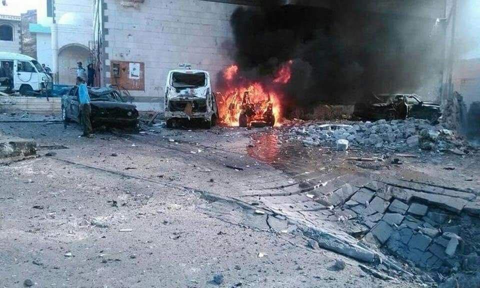 ورد الان.. تفاصيل وصور التفجير الانتحاري الذي هز عدن قبل قليل