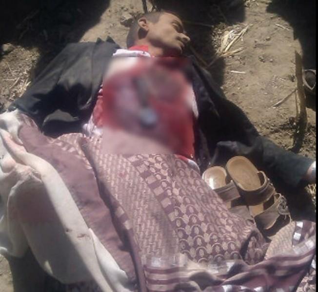 مليشيا الحوثي تقتل معلما أمام زوجته وأطفاله في مديرية جبل الشرق بمحافظة ذمار