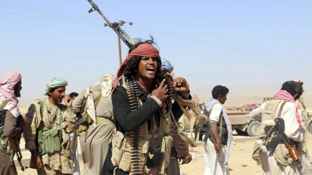 مصرع 5 من مسلحي مليشيا الحوثي في معارك ضد المقاومة الشعبية بمحافظة البيضاء