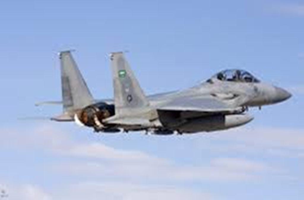 طيران التحالف العربي يشن غاراته على مواقع المليشيات الانقلابية في محافظة البيضاء