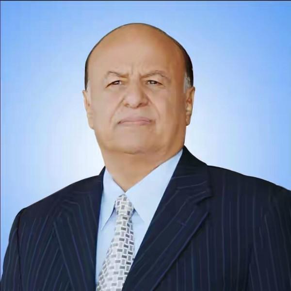 الرئيس هادي يعزي في استشهاد الشيخ شوقي كمادي