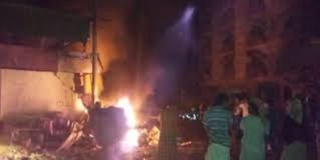 وكالة أعماق التابعة لتنظيم الدولة الاسلامية تعلن مسؤولية التنظيم عن التفجير الذي وقع أمام وزارة المالية في عدن