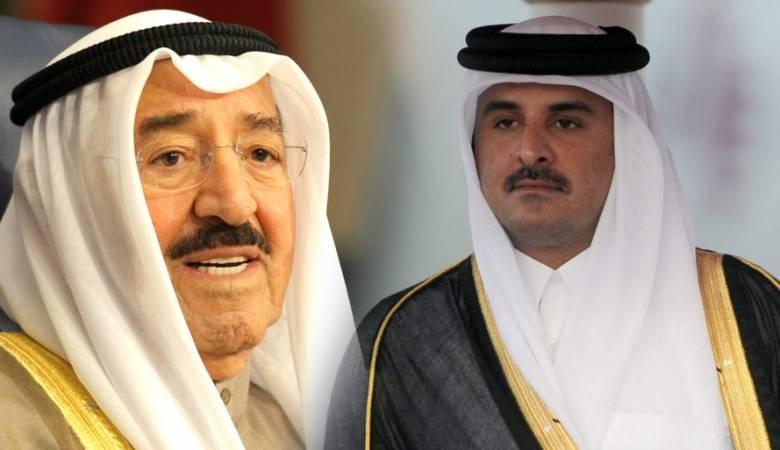 أمير الكويت يدعو امير قطر لحضور القمة الخليجية الاسبوع المقبل