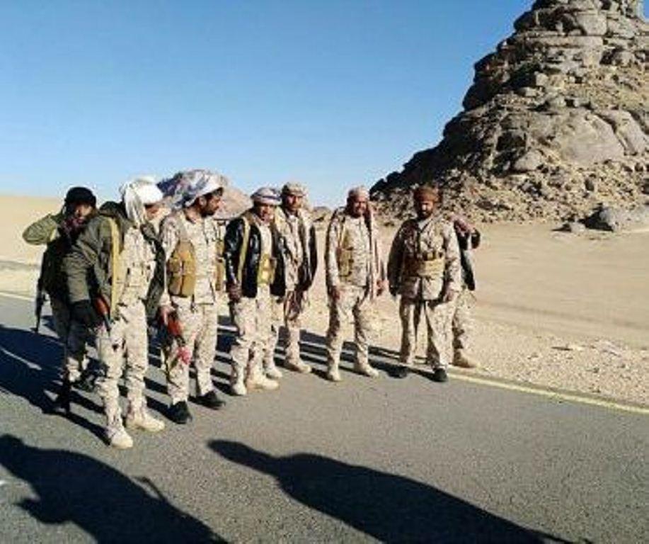 القوات الحكومة تعلن أسر 12 حوثيا بمحافظة الجوف