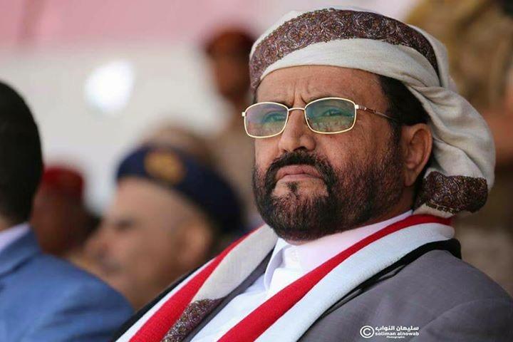 سلطان العرادة يعلن ان بيوت مأرب مفتوحة للذين ظلمهم الحوثي من المؤتمر وغيره