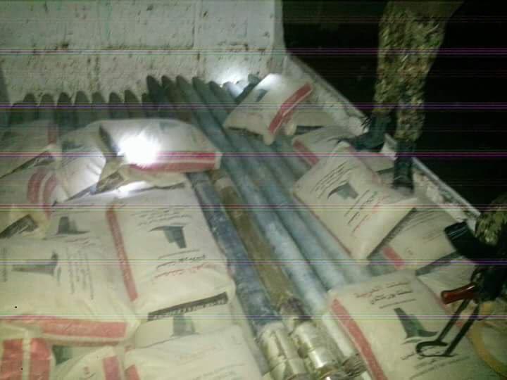 حدث قبل قليل.. قوات الامن تضبط شحنة اسلحة كانت متوجهة الى صنعاء (صورة)