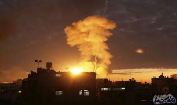 اسرائيل تقصف غزة.. واستشهاد فلسطينيين
