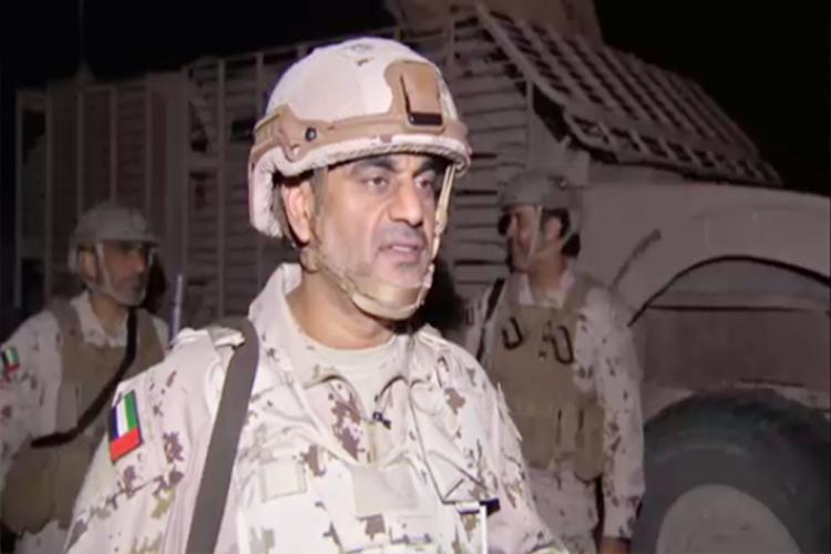 قائد القوات الاماراتية يكشف عن مبادرة الحرس الجمهوري بالقتال الى جانب التحالف