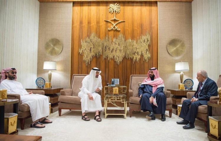 """الرياض : تفاصيل جديدة عن لقاء قيادة """" الإصلاح """" بولي العهد السعودي وولي عهد أبوظبي"""