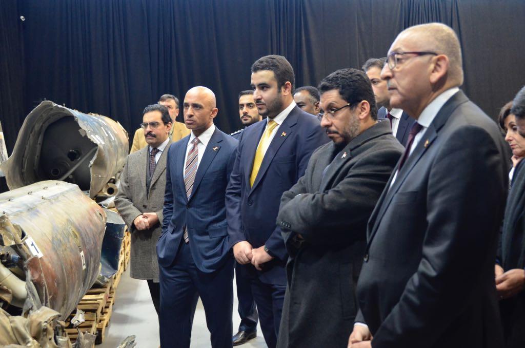 السفير اليمني بأمريكا يطلع على الأدلة الدامغة التي تثبت تهريب السلاح الإيراني للحوثيين