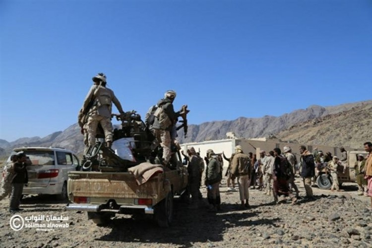 قوات الجيش الوطني تأسر 80 حوثيا خلال المعارك التي اندلعت في اليومين الماضيين بمحافظة شبوة