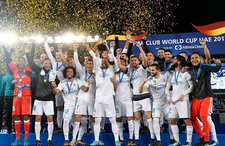 ريال مدريد يتوج بطلا للعالم ورونالدو  يدخل التاريخ لتسجيله في نهائيين متتاليين