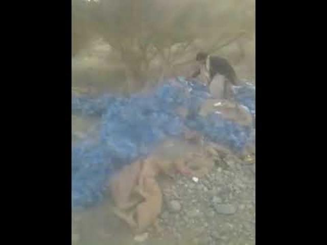 شاهد بالفيديو.. هذا ما عثرت عليه قوات الجيش الوطني في مواقع مليشيا الحوثي بعد فرارها بجبهة بيحان