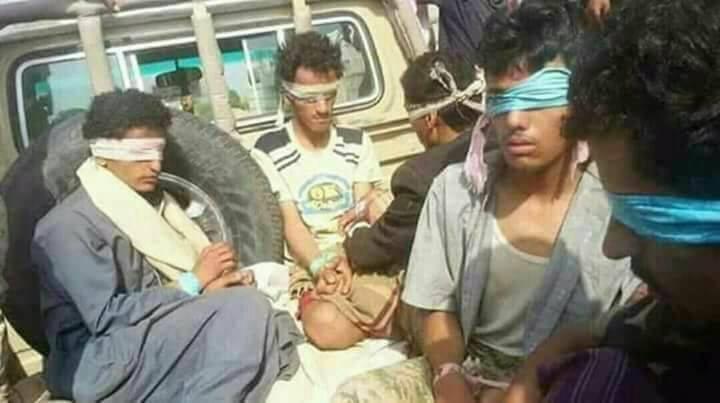 الجيش الوطني والمقاومة بوقعان أكثر من 100 أسير حوثي دفعة واحدة بمديرية بيحان بشبوة