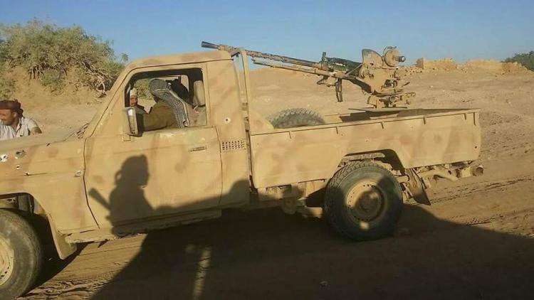 قوات الجيش الوطني تستهدف حوثيين بكمين لها في محافظة الجوف