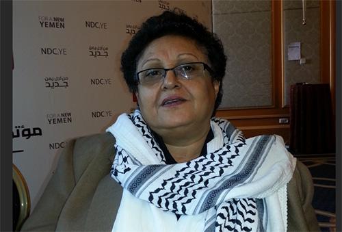 اختفاء القيادية في المؤتمر فائقة السيد.. وانباء عن اعتقالها من قبل الحوثيين