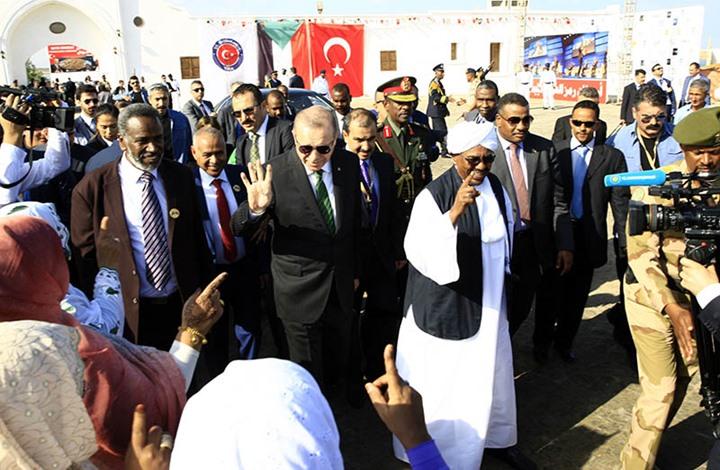 """السودان """"يهدي"""" تركيا جزيرة على البحر الأحمر … تفاصيل"""