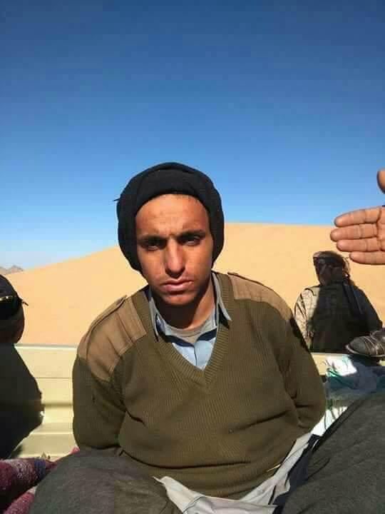 """ناشطون يتداولون صورة يقولون انها لنجل تاجر السلاح الاكبر في اليمن فارس مناع الذي شارك في قتل """"صالح"""""""