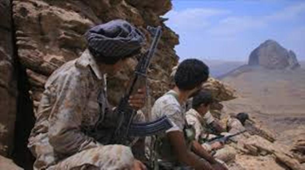 قوات الجيش الوطني تنفذ عملية نوعية في منطقة الاشروح وتفجر عربة تابعة للمليشيات غرب تعز