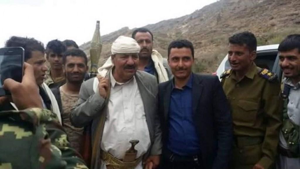 محافظ محافظة تعز المعين من قبل الحوثيين ينجوا من محاولة إغتيال في منطقة الحوبان بمحافظة تعز
