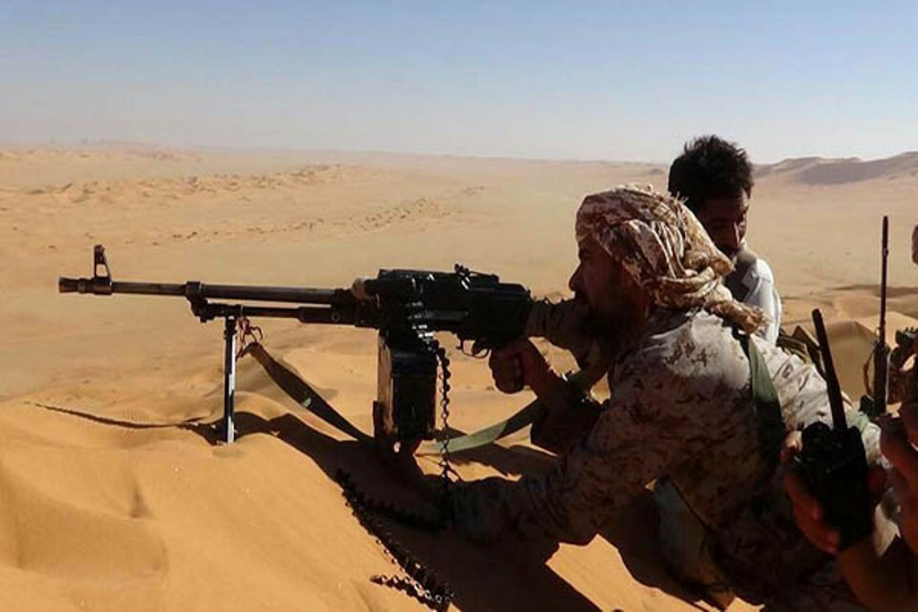 قوات الجيش الوطني تستكمل تطهير منطقة اليتمة في محافظة الجوف وتعلن تحرير الخط الدولي الذي يربطها بمحافظة صعدة